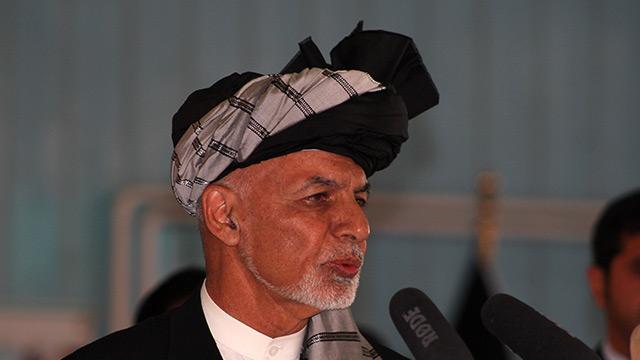 Eşref Gani, Afganistan'da göreve yeniden seçildi