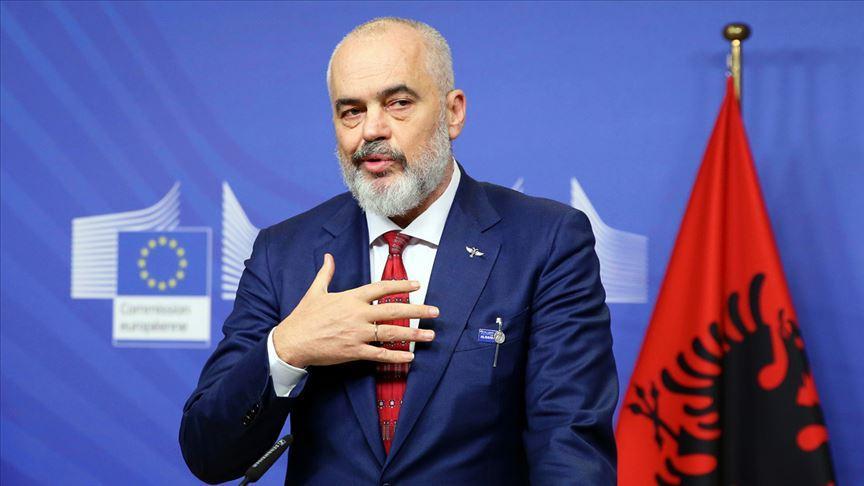 Arnavutluk Başbakanı Rama'dan Türkiye'ye teşekkür