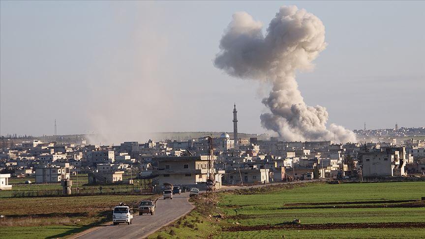 Esed rejimi ve Rusya'nın İdlib'e saldırılarında 4 sivil daha öldü