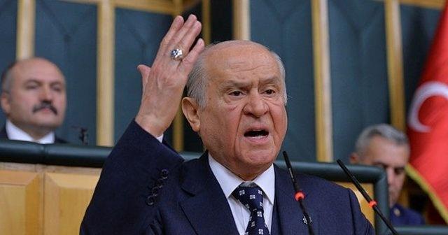 MHP Lideri Devlet Bahçeli'den sert çıkış: Sen hangi örgütün fermanını okuyorsun?