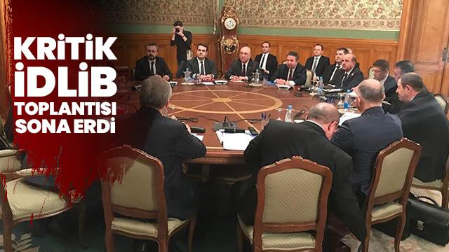 Kritik İdlib toplantısı bitti