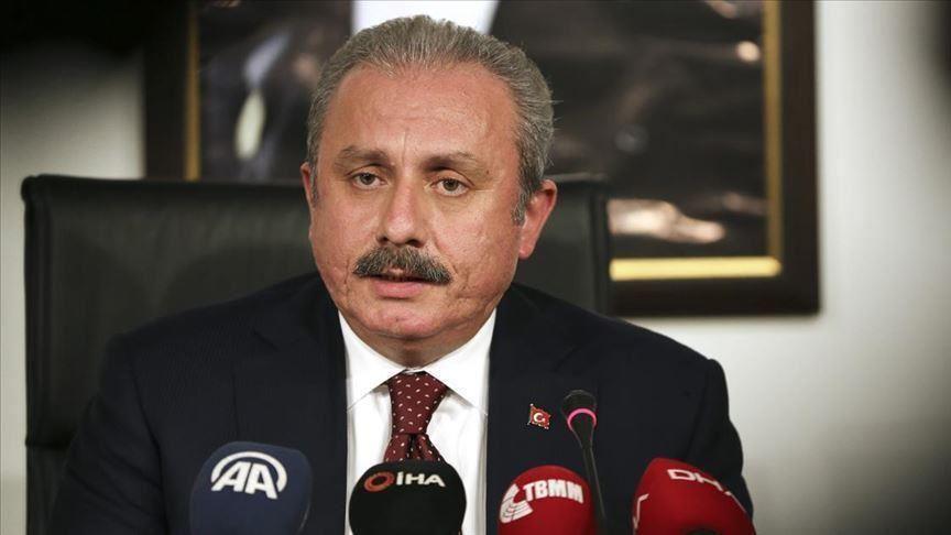 Şentop'tan Yunanistan Cumhurbaşkanı'nın 'Müslüman Yunan azınlık' ifadesine tepki