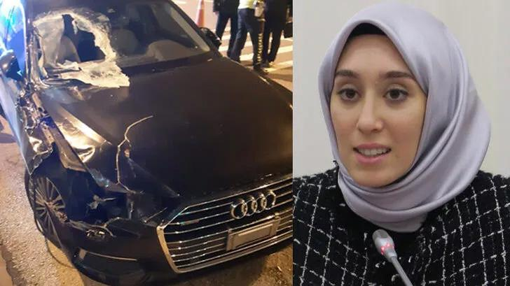 AK Parti Milletvekili Rümeysa Kadak trafik kazası geçirdi