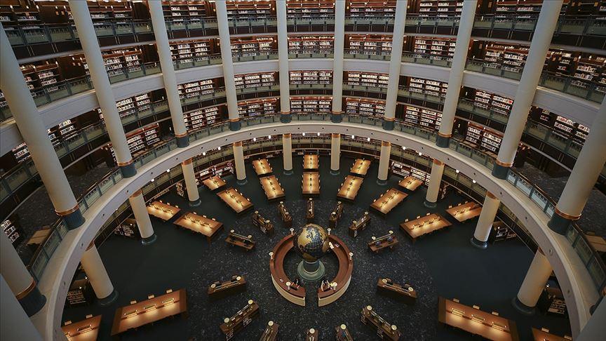 Millet Kütüphanesi Cumhurbaşkanı Erdoğan ve Özbekistan Cumhurbaşkanı Mirziyoyev'in katılımıyla açılacak