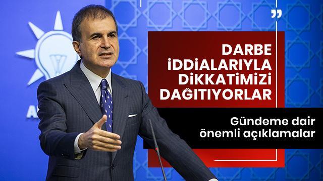 """""""Darbe tartışması Türkiye için lüzumsuz bir gündemdir"""""""