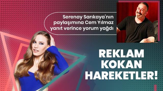 Serenay Sarıkaya'nın paylaşımına Cem Yılmaz'dan dikkat çeken yorum!