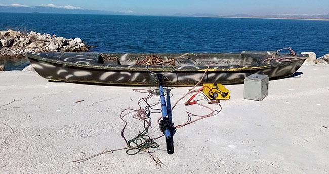 Beyşehir'de elektroşokla kaçak balık avına rekor ceza!