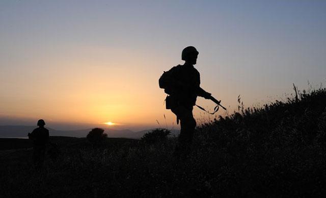 Bahoz Erdal' kod adlı teröristin koruması güvenlik güçlerine teslim oldu