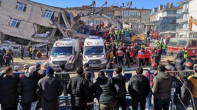 İçişleri Bakanlığı'ndan, Elazığ'a yapılan yardımlar hakkında açıklama