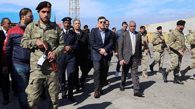 Serrac, Hafter ile yürütülen müzakerelerin tümünü askıya aldı