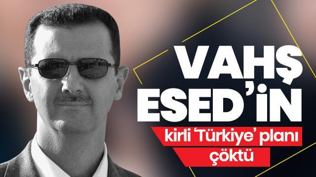 Katil Esed'in kirli 'Türkiye' planını rejimin telsizine sızan muhalifler ortaya çıkardı!