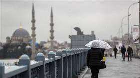 İstanbul'a yağış uyarısı!