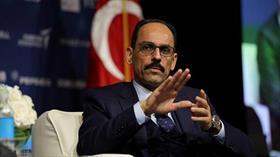 Cumhurbaşkanlığı Sözcüsü İbrahim Kalın: Alman makamlarının azami çaba göstermesini bekliyoruz