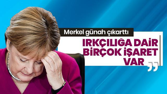 Irkçı saldırı ile ilgili Merkel'den ilk açıklama