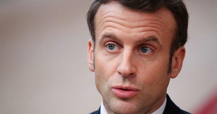 Macron: Beşşar Esed rejimini şiddetle kınıyorum