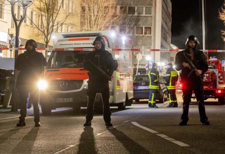 Almanya'nın Hanau kentinde silahlı saldırı: 11 ölü