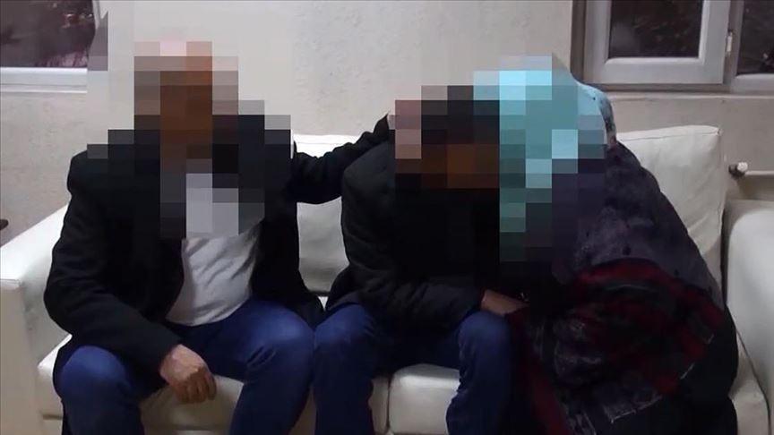 Evlat nöbetindeki ailelerden birinin daha oğlu döndü