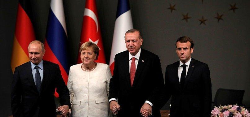 Merkel ve Macron'dan Putin'e ateşkes çağrısı