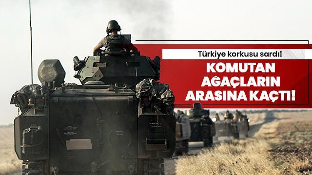 Türkiye korkusu komutana bunu yaptırdı!