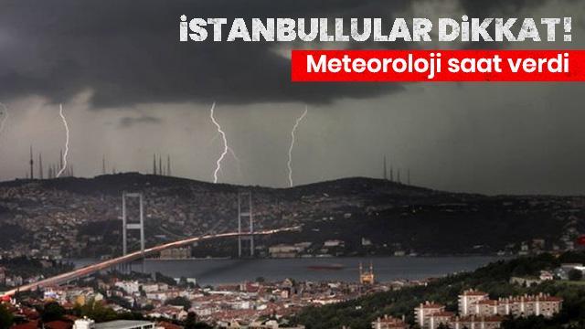 Meteoroloji'den hava durumu ve yağış uyarısı!