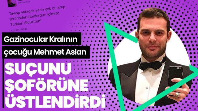 """Mehmet Aslan'ın hakaretini üstlenen şoförüne """"suçu üstlenme"""" davası"""