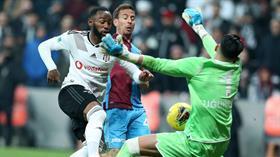 Trabzonspor 90+1'de attığı golle deplasmanda Beşiktaş ile 2-2 berabere kaldı