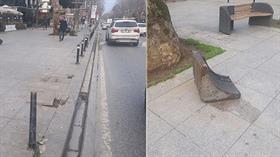 Bağdat Caddesi'ndeki dehşet, gün ağarınca ortaya çıktı: Sürücü teslim oldu