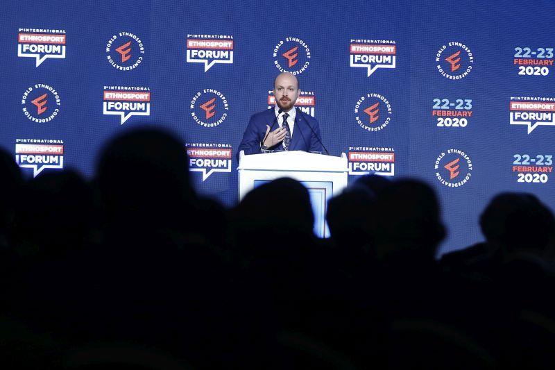 3. Uluslararası Etnospor Forumu Bilal Erdoğan'ın açılış konuşmasıyla başladı