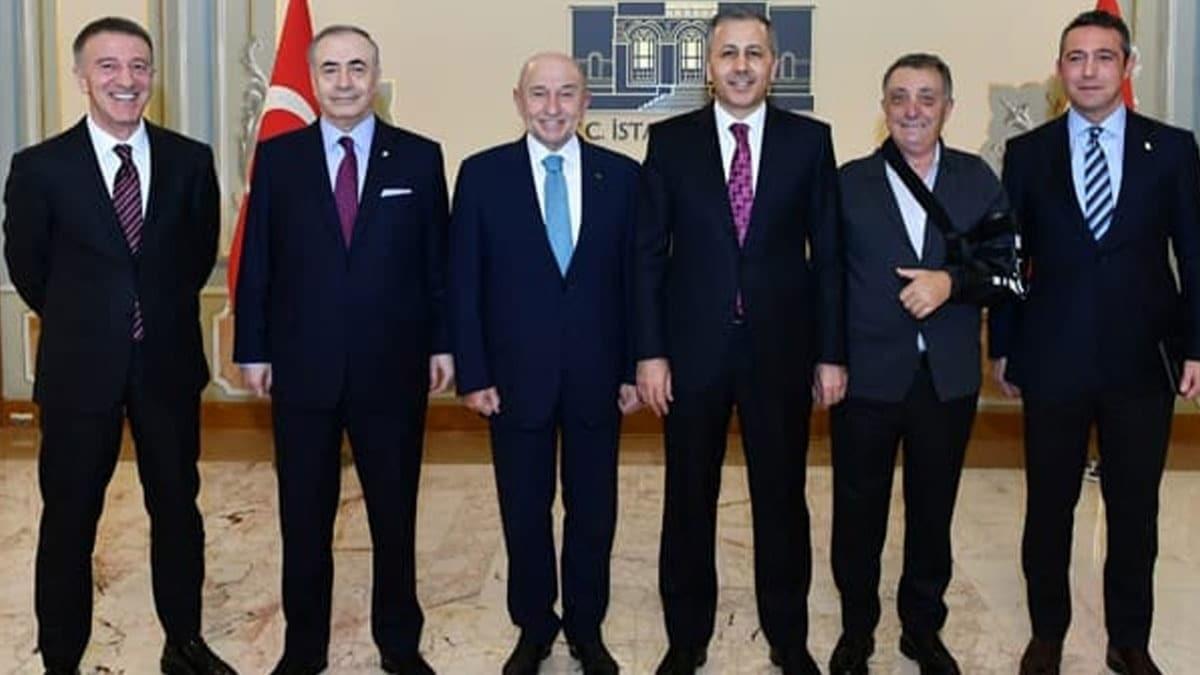 İstanbul Valisi Ali Yerlikaya davet etti başkanlar centilmenlik masasına oturdu