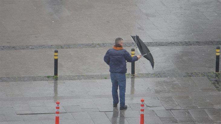 Meteoroloji o bölgeleri tek tek saydı ve uyardı! Sağanak bekleniyor