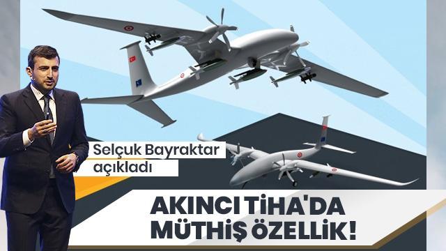 Selçuk Bayraktar, AKINCI TİHA'da 6 yapay zeka bilgisayarı bulunduğunu açıkladı
