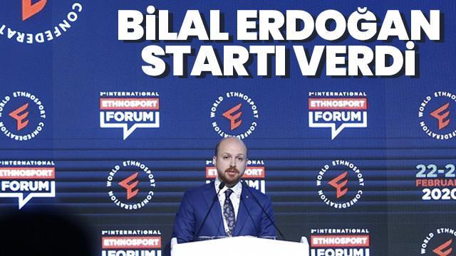 Bilal Erdoğan startı verdi