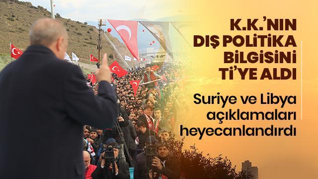 Başkan Erdoğan, Kılıçdaroğlu'nun dış politika bilgisini ti'ye aldı