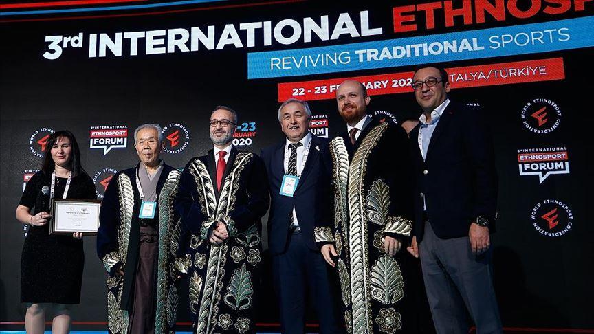 3. Uluslararası Etnospor Forumu sona erdi