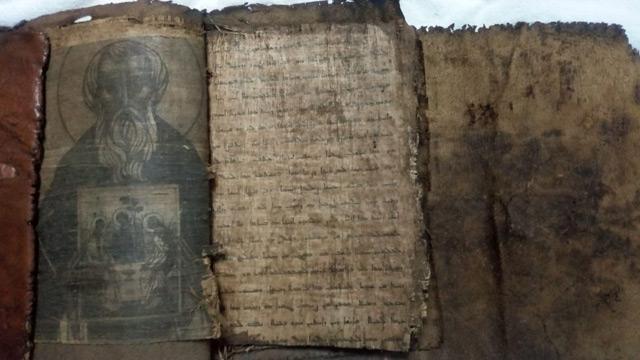 Adana'da tarihi eser operasyonu! El yazması 3 dini kitap ele geçirildi