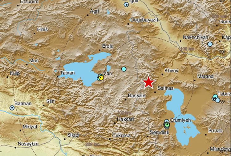 İran sınırında peş peşe depremler meydana geliyor