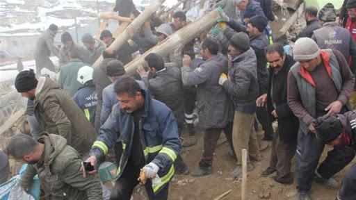 AFAD: Van'daki arama kurtarma çalışmaları sona erdi