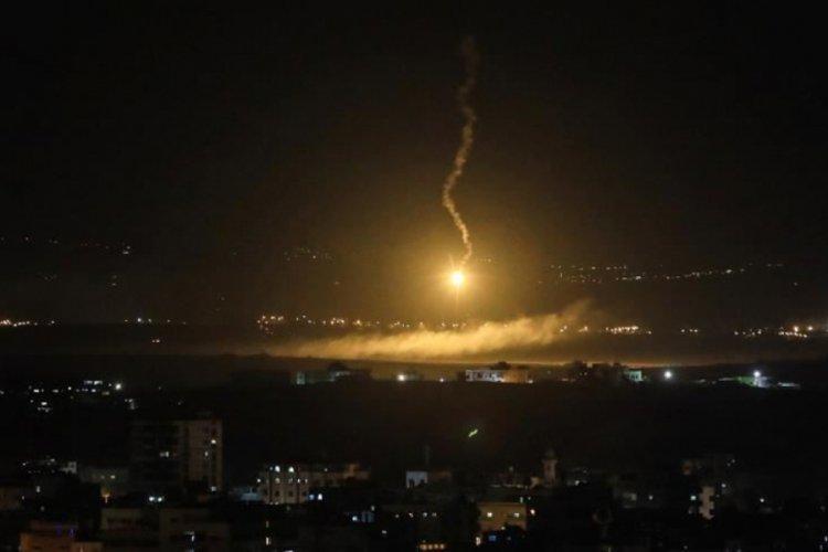 İsrail Suriye'de hava saldırısı düzenledi