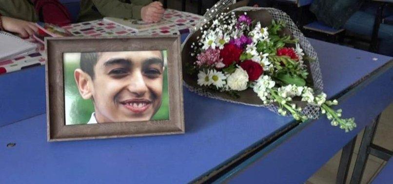 Elazığ depreminde yaşamını yitiren Miraç'ın okulunda hüzünlü gün