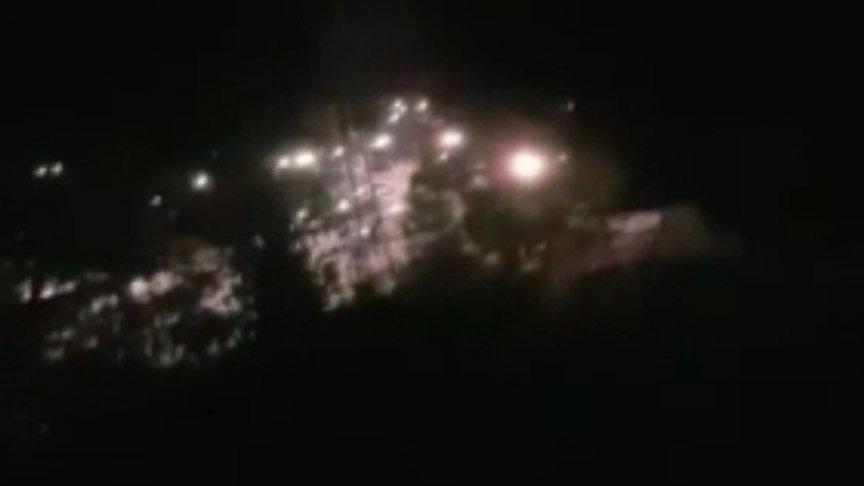 Terör devleti İsrail'den Gazze'ye saldırı! Yaralılar var