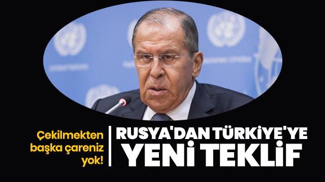 Rusya'dan Türkiye'ye yeni teklif