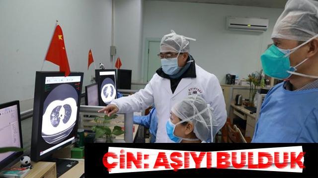Çin, koronavirüs aşısını buldu