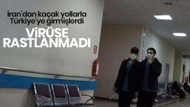 Erzurum'da kaçak göçmenlere 'koronavirüs' taraması
