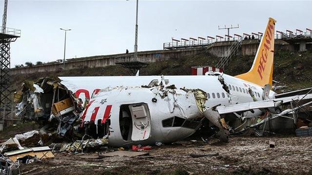 Sabiha Gökçen'deki uçak kazasında flaş gelişme