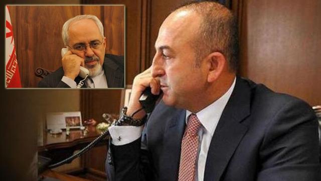 Bakan Çavuşoğlu'ndan İranlı mevkidaşı Zarif ile kritik görüşme