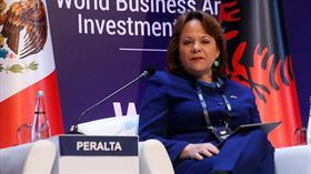 Meksika Dışişleri Bakan Yardımcısı Peralta: Türkiye'de kadınların karar alma süreçlerine katılım oranı iyi