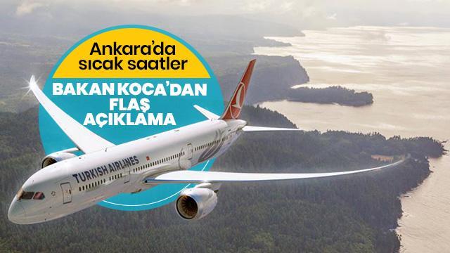 İran uçağı koronavirüs şüphesiyle Ankara'ya indi
