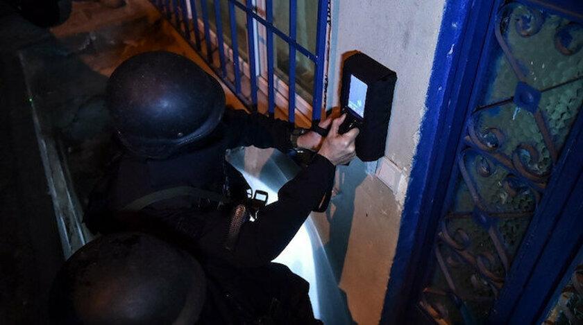 İstanbul'da terör örgütü DEAŞ'a yönelik operasyonda duvar arkasını gösteren cihaz ilk kez kullanıldı