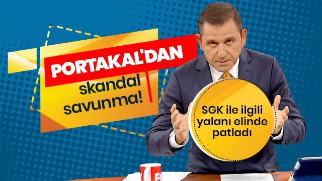 Fatih Portakal canlı yayında 'SGK' yalanını böyle savundu