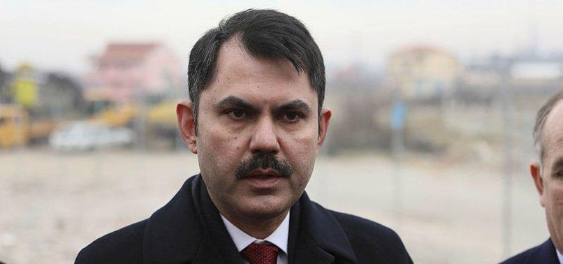 """Çevre ve Şehircilik Bakanı Murat Kurum: Sanayi alanları """"yatay yapılaşma"""" için şehrin dışına taşınacak"""